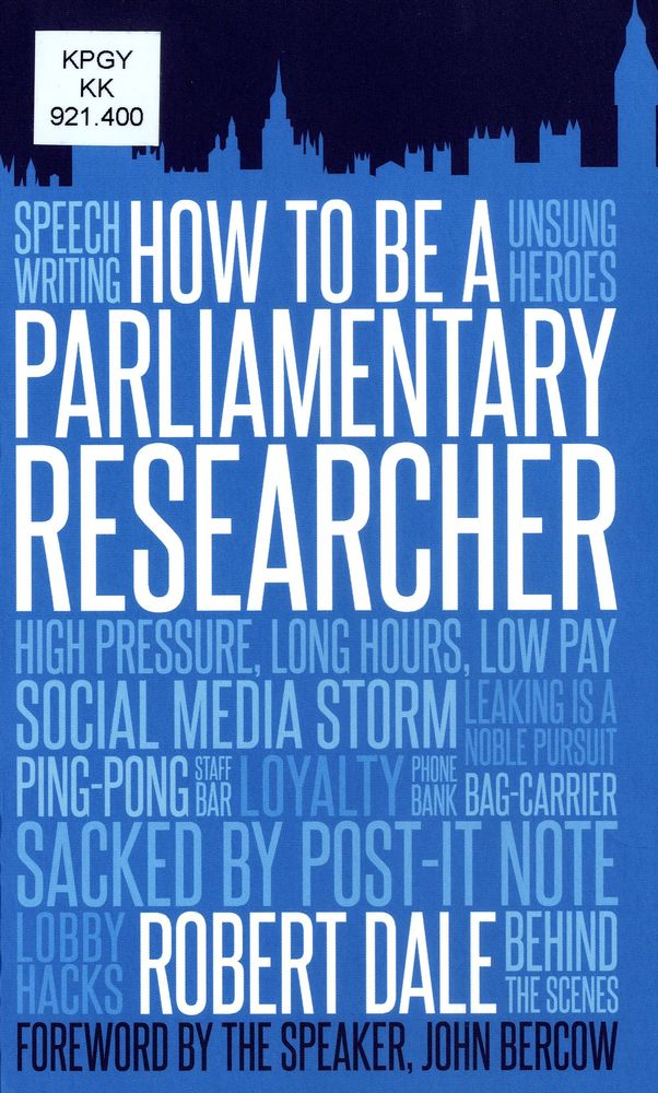 Parliamentary researcher