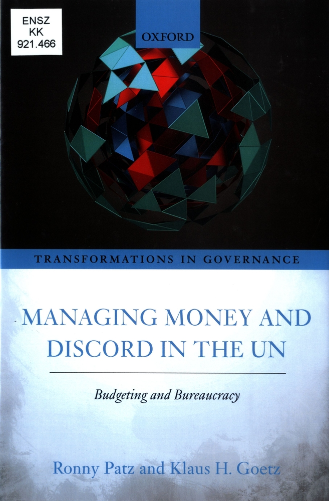 UN budgeting and bureaucracy