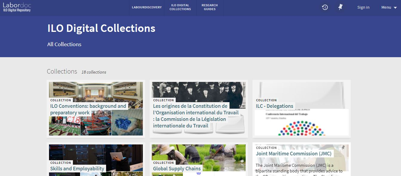 ILO Digital Collections